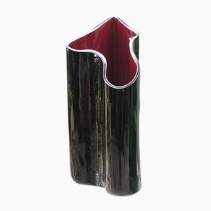 Kelo Murano Glass Umbrella Stand or Vase by Timo Sarpaneva for Venini, 1988