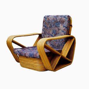 Sessel aus Rattan, 1950er