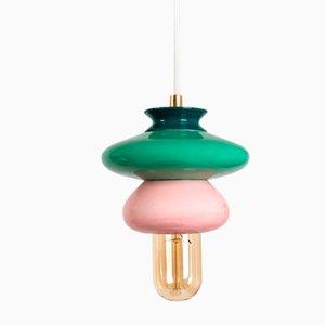 Kleine Pink Series Apilar Hängelampe von Studio Noa Razer