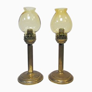 Vintage Candelholders from Karlskrona, Set of 2