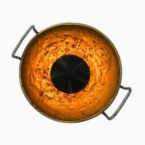 Lámpara Eye de latón de Patina Lux