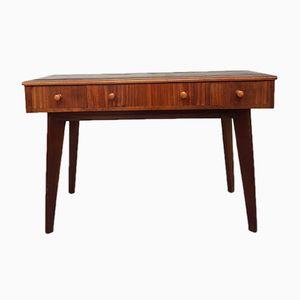 Mid-Century Schreibtisch aus Nussholz von Morris of Glasgow