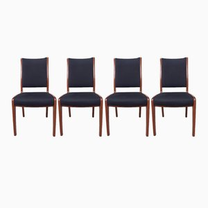 Mid-Century Scandinavian Teak Dining Chairs from G-Plan, Set 4