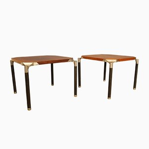 Urio Side Tables by Ico Parisi for MIM, Set of 2