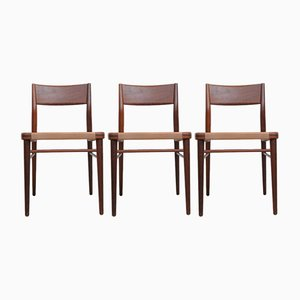 Model 351 Dining Chairs by Georg Leowald for Wilkhahn, 1950s, Set of 3