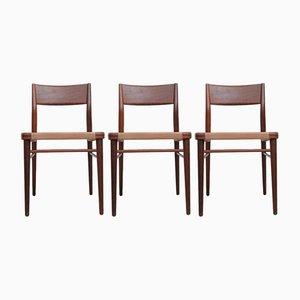 Modell 351 Esszimmerstühle von Georg Leowald für Wilkhahn, 1950er, 3er Set