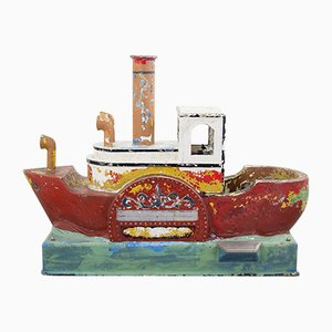 Vintage Children's Boat Toy