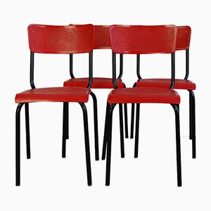 C59 Chairs by Pierre Guariche for Meurop, 1950s, Set of 4