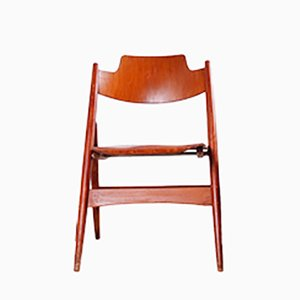Mid-Century SE18 Folding Chair by Egon Eiermann for Wilde + Spieth