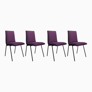 Robert Chair by Pierre Guariche for Meurop, 1950s, Set of 4