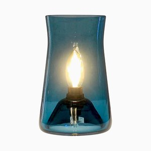 Teal Waisted Table Lamp by One Foot Taller