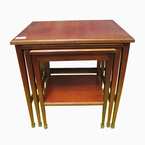 Mahogany Nesting Tables, 1960s