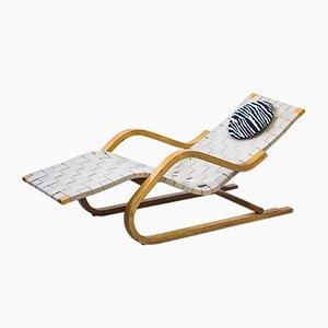 Chaise longue nr. 39 vintage di Alvar Aalto per Arteak