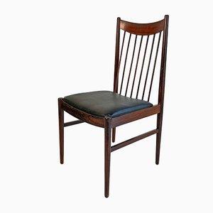 Skandinavische Vintage Stühle aus Palisander von Arne Vodder für Sibas, 1950er, 6er Set