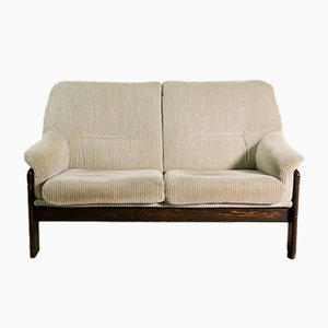 Mid-Century Velvet 2-Seater Sofa from Coja, 1970s