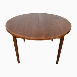 Table à Rallonge Mid-Century, Danemark, 1960s
