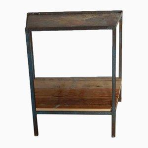 Mesa auxiliar italiana vintage de madera