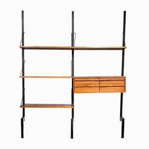 Royal System Wall Unit with Drawers by Poul Cadovius for Cado, 1960s