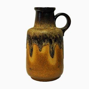 Vaso o brocca nr. 408-40 beige di Scheurich, anni '70