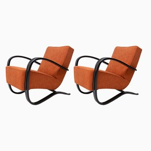 H-269 Armchairs by Halabala for UP Závody, 1930s, Set of 2