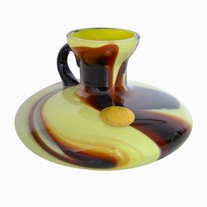 Vaso vintage in vetro di Murano di Carlos Moretti, anni '70
