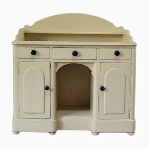 Antique Painted Pine Sideboard