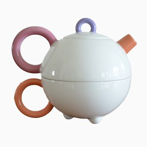 Vintage 2-in-1 Teapot & Cup by Matteo Thun for Arzberg Memphis Design