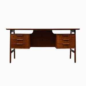 Danish 75 Writing Desk from Omann Jun, 1960s