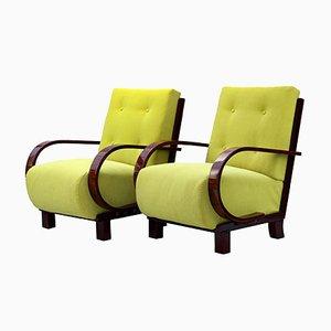 Art Deco Sessel, 2er Set