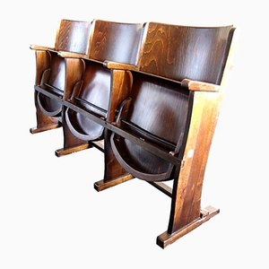Cinema Seat Bench from TON, 1950s