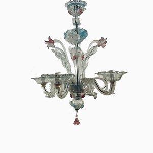 Vintage Kronleuchter aus Muranoglas