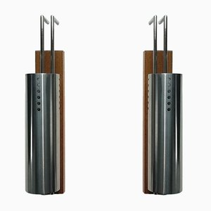 French Wall Lamps, 1968, Set of 2