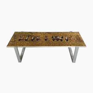Coffee Table from De Nisco, 1970s