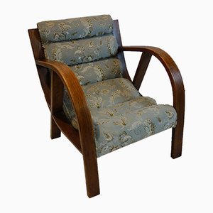 English Art Deco Lounge Chair, 1920s