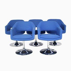 Große Drehsessel von Johanson Design, 5er Set