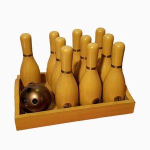 Vintage Mini Bowling Game