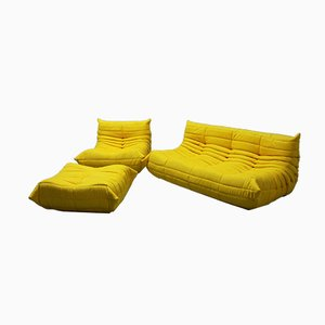 Vintage Living Room Set by Michel Ducaroy for Ligne Roset, 1970s