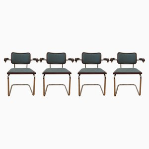 Vintage Dining Chairs by Marcel Breuer, Set of 4