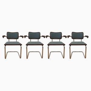 Vintage Esszimmerstühle von Marcel Breuer, 4er Set