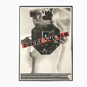 The Good Light Movie Poster by Milan Grygar, 1986