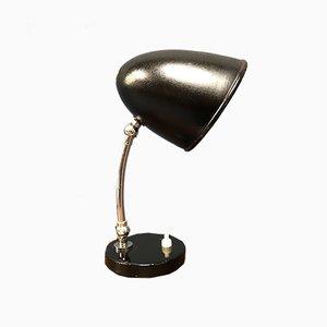 Lámpara de escritorio Bauhaus pequeña, años 40