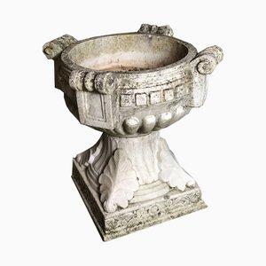 Acquasantiera Art Déco in marmo, anni '20