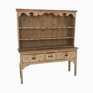 English Pine Dresser, 1890s