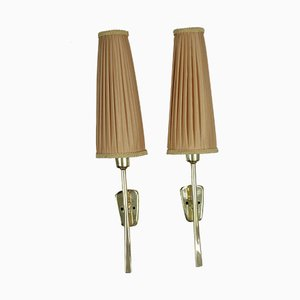 Tino Sconces by J.T. Kalmar for Kalmar, 1950s, Set of 2