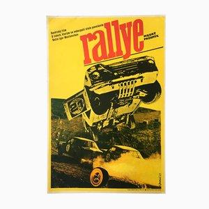 Affiche de Film Racers Vintage par Josef Duchoň, 1973
