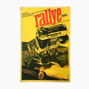 Vintage Racers Movie Poster by Josef Duchoň, 1973