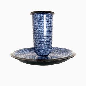 Vase Viennois Vintage en Céramique