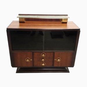 Vintage Rosewood & Bronze Cabinet, 1930s