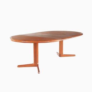 Danish Teak Extendable Dining Table from E. Valentinsen, 1960s
