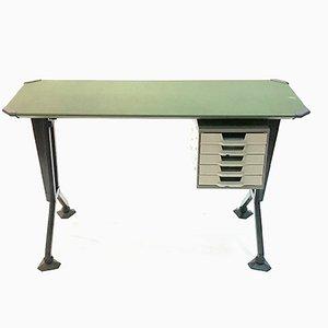 Escritorio serie Arco de BBPR para Olivetti, años 60